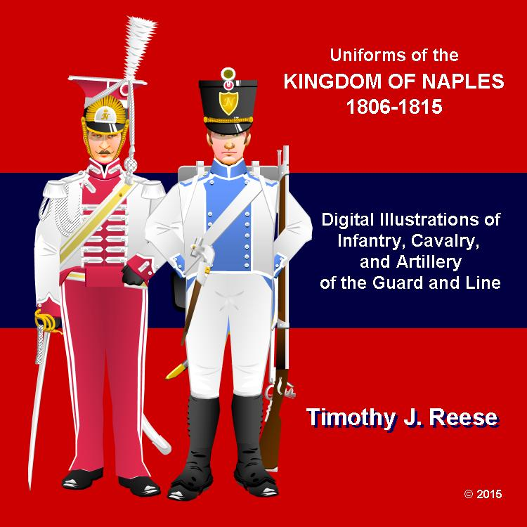 SAMPLE PLATE:Uniforms of the Kingdom of Naples 1806-1815