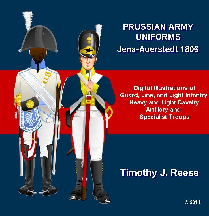 SAMPLE PLATE: Prussian Army Uniforms: Jena-Auerstedt 1806