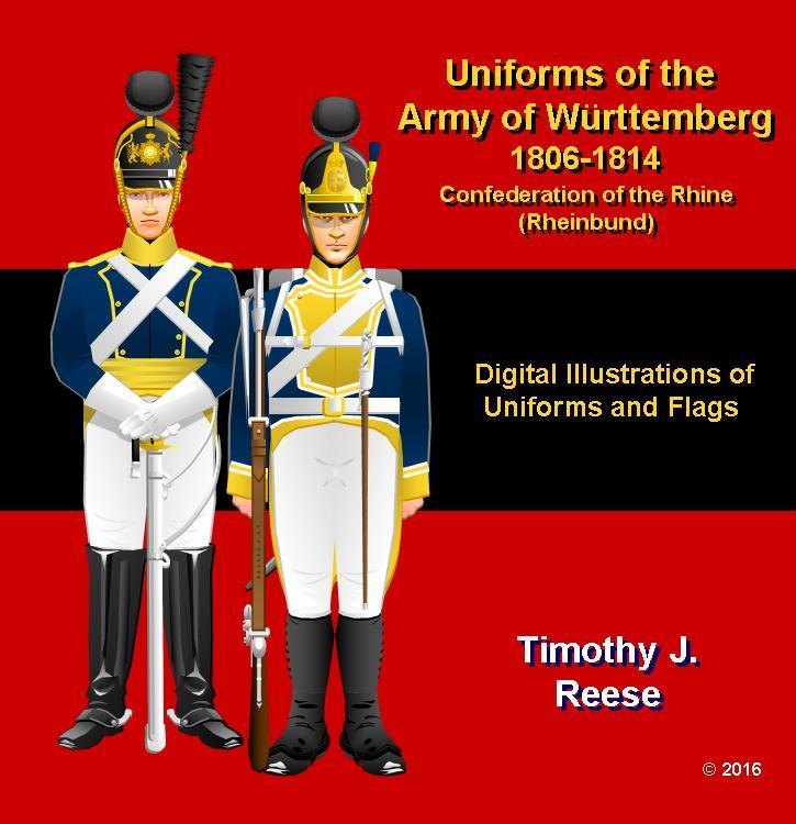 SAMPLE PLATE: Uniforms of the Army of W�rttemberg, 1806-1814